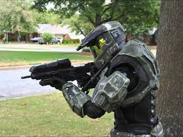Halloween Halo Costumes Complete Halo Reach Costume Testing
