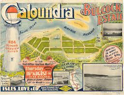 Map Of Queensland Real Estate Map Of Bulcock Estate Caloundra 1917 Flickr
