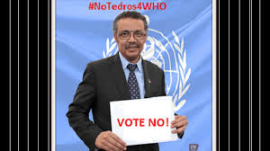 petition we oppose tedros adhanom u0027s candidacy for director