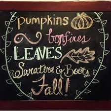 Pinterest Chalkboard by Fall Favorite Things Chalkboard Design Fall Pinterest