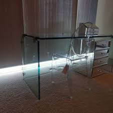 Glass Makeup Vanity Table Bedroom Ideas Sparkling Makeup Vanity Table Make Your Bedroom