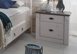 Schlafzimmer Massivholz Landhaus Schlafzimmer Eva Massivholz Weiß Grau Von Jumek Günstig