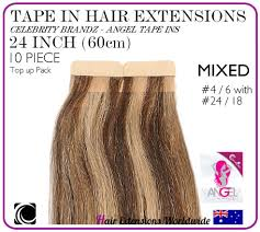 angel hair extensions 24 60 cm blend 4 6 with 24 18 brandz angel