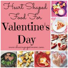 Dinner Ideas For Valentines Day At Home Valentine U0027s Day Food Ideas Heart Shaped Food Chasing Supermom