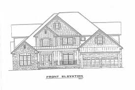 House Plans With Kitchen In Front 4 Bedrm 2755 Sq Ft Craftsman House Plan 153 1934