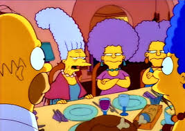 happy thanksgiving everything simpsons