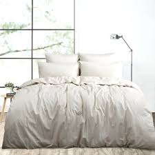 washed linen duvet cover pine cone hill stone washed linen natural