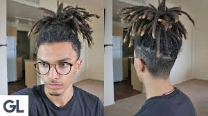 hairstyles after dreadlocks easy hairstyle for dreadlocks youtube