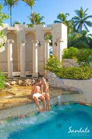 each sandals royal bahamian pool is reminiscent of the splendor of