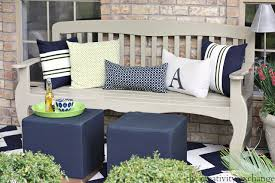 Backyard Bench Ideas by Front Porch Bench Ideas 56 Furniture Ideas On Front Porch Bench