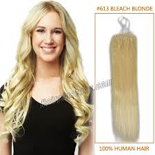18 inch hair extensions inch 613 micro loop human hair extensions 100s 100g