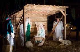 nativity at pine grove methodist church pine churches and