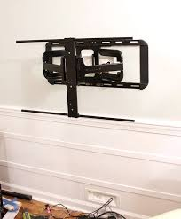 Best Way To Hide Wires From Wall Mounted Tv Wall Mounted Tv With Hidden Wires Tutorial
