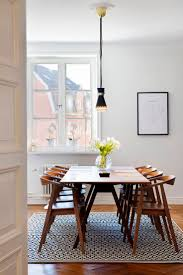 the antique design of mid century modern dining table