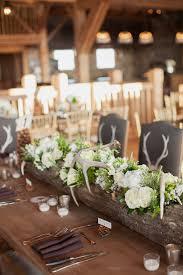 hollowed log centerpiece wedding ideas pinterest