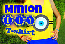 minion halloween shirt diy minion t shirt ツ no sew cute and easy minions t shirt d
