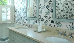 Wallpapers For Bathrooms Chic Wall Paper For Bathrooms Wallpaper Ideas For Bathroom