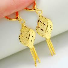 gold earrings for wedding 2017 gold plated earrings bridal wedding earrings wedding gift