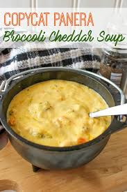 the best ever copycat panera broccoli cheddar soup recipe