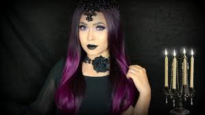 queen of darkness makeup tutorial halloween 2016 youtube