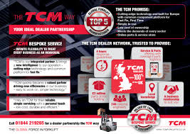tcm europe the global force in forklift