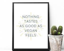 vegan home decor vegan wall art etsy