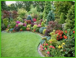 small shade garden ideas landscaping ideas for small slopes full