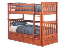 Tilly Single Bunk Bed Teak Beds Online - Single bed bunks
