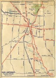 Chicago Trolley Map by Old Highway Maps Of Texas