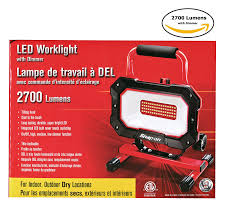 500 watt work light led conversion snap on 922261 led work light 2000 lm amazon com