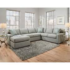 Gray Fabric Sectional Sofa Fabric Sofas Sectionals Costco