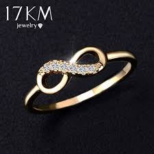 platinum crystal rings images 17km brand genuine ring best friends wholesale crystal cross jpg