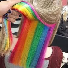 rainbow color hair ideas remarkable rainbow hair color pictures best 20 hair ideas on