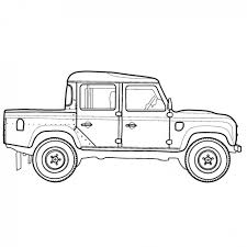 land rover drawing land rover defender series range rover evoque discovery lr2