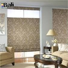 Custom Roman Shades Lowes - bali roman shades menards sample swatches for roman shades the