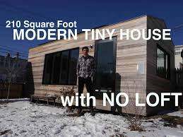 one story tiny house brian levy u0027s 210 square foot modern tiny house with no loft
