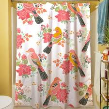 Bird Shower Curtains Shower Curtain Birds Wayfair