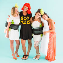 sushi halloween costume dress up like sushi for the best group