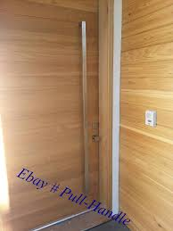 Contemporary Door Hardware Front Door by Pull Handles Long Door Handle Entry Stainless Steel Marine Modern