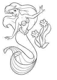 Dessins Gratuits à Colorier  Coloriage Princesse Ariel à imprimer