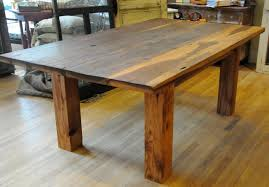 Distressed Wood Dining Room Table Dining Room Table Plans Provisionsdining Com