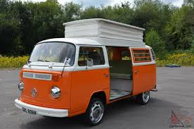 volkswagen westfalia camper vw camper van t2 bay westfalia 1974 just restored