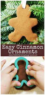 Easy Cinnamon Ornament Recipe Easy 3 Ingredient Cinnamon Ornaments The Kitchen Is My Playground