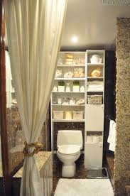 Very Small Bathroom Storage Ideas Very Small Bathroom Storage Curve Brown Wooden Frame Glass Mirror