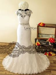 Vintage Style Wedding Dresses Custom Made Vintage Style Lace Wedding Dresses By Lacemarry