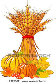 clipart of thanksgiving harvest background k4280611 search clip