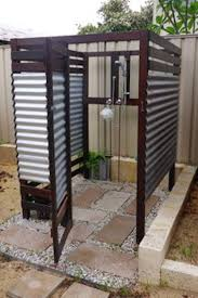 Exposed Outdoor Shower Fixtures - exciting outdoor shower ideas inside exposed outdoor shower