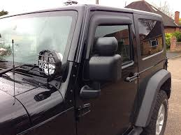 jeep wrangler blind spot mirror magnum square blind spot mirrors oem look ish