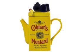coleman s mustard colman s mustard tin medium teapot ceramic inspirations