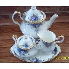 roses tea set royal albert moonlight tea set 1908986